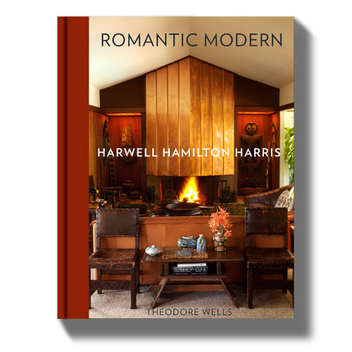 Book. Romantic Modern, The California Architecture of Harwell Hamilton Harris. 2017. WRITING.